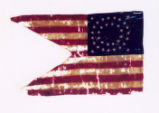Guidon of the 6th Independent Battery, Ohio Veteran Volunteer Light Artillery