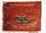 Regimental Colors of the 1st Independent Battery, O.V.L.A.