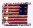 Camp Colors of the 45th Ohio Volunteer Infantry, reverse