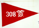 Guidon of the 308th Motor Supply Train, 83rd Infantry Division