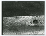 Blast furnace interior brickwork