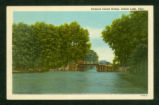 Indian Lake Orchard Island Bridge Postcard