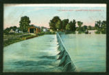 Indian Lake Waste Weir Postcard
