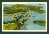 Indian Lake Air View Of Orchard Island Postcard