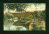 DeGraff Covered Bridge Postcard