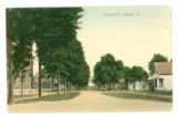 Quincy Church Street Postcard