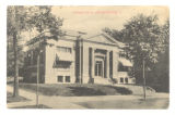 Bellefontaine Carnegie Library 1909 Postcard