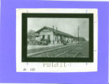 Bellefontaine, Ohio T & OC Railroad Depot Photograph
