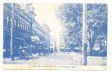 Bellefontaine Opera House and Post Office Postcard