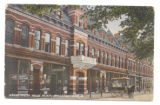 Bellefontaine Opera House Block Postcard