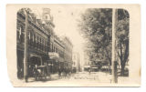 Bellefontaine Opera House and Court Avenue Postcard