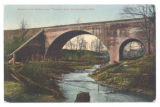 Bellefontaine Tucker's Run Viaduct Postcard