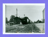Lakeview, Ohio NYC Railroad Depot Photograph
