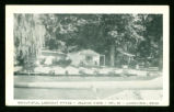 Indian Lake Beautiful Lookout Patio Postcard