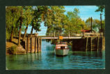 Indian Lake Bridge To Orchard Island Postcard