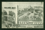 Indian Lake Mechanical Diorama Amusement Park Postcard