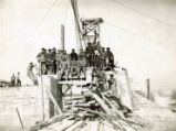 Construction of Power Dam (Auglaize Hydroelectric Plant)
