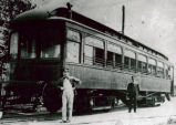 Trolley Car, Elmore, Ohio