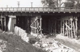 Construction of Woodville Road underpass in Genoa
