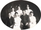 Pemberville High School Graduation Class 1904