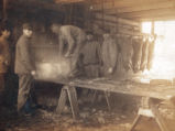 Hog Butchering, John Kapp Family, Lake Township, Wood County