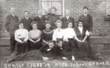 Senior Class of Genoa High School, 1909