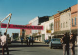 Motion picture filming, Clyde, Ohio, 1989