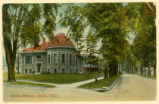 Clyde Library Postcard 1914