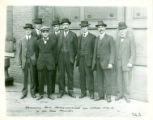 Remington Arms representatives at Defiance Machine Works 1920 circa