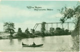 Dey Bridge over the Tiffin River postcard