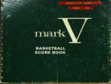 Rossford Varsity Boys Basketball Score Book 1983-1984