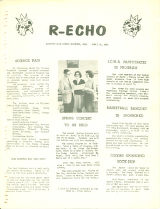 Rossford High School R-Echo Newspaper 1964-04-10