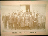 early 1900s school photograph