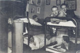 JR Home Photograph Five Boys in Bunk Beds