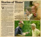 Jr Home Newspaper Story - Stories of Home - 9-3-2000