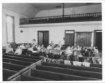 Ebenezer Mennonite Church women's sewing group photograph