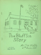 The Bluffton Story booklet - 1953