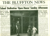 The Bluffton News School Dedication Supplement - 1956