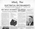What's New in Electrical Instruments - 1935/09 issue