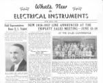 What's New in Electrical Instruments - 1936/06-07 issue