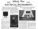 What's New in Electrical Instruments - 1937/09-10 issue