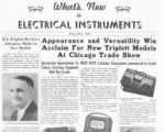 What's New in Electrical Instruments - 1939/06-07 issue