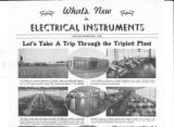 What's New in Electrical Instruments - 1940/01-02 issue