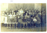 Paulding Center School photograph - 1907