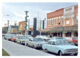 Main and Church streets intersection photographs - 1970