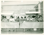Triplett downtown plant interior photograph - circa 1942