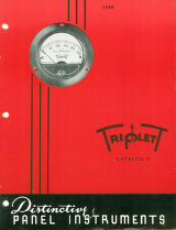 Triplett Panel Instruments Catalog C - 1948