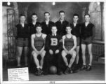 1934 Readrite Meters Works basketball team photograph