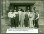 Triplett key personnel photograph - 1937