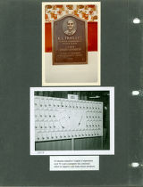 Triplett patents/R.L. Triplett plaque photograph